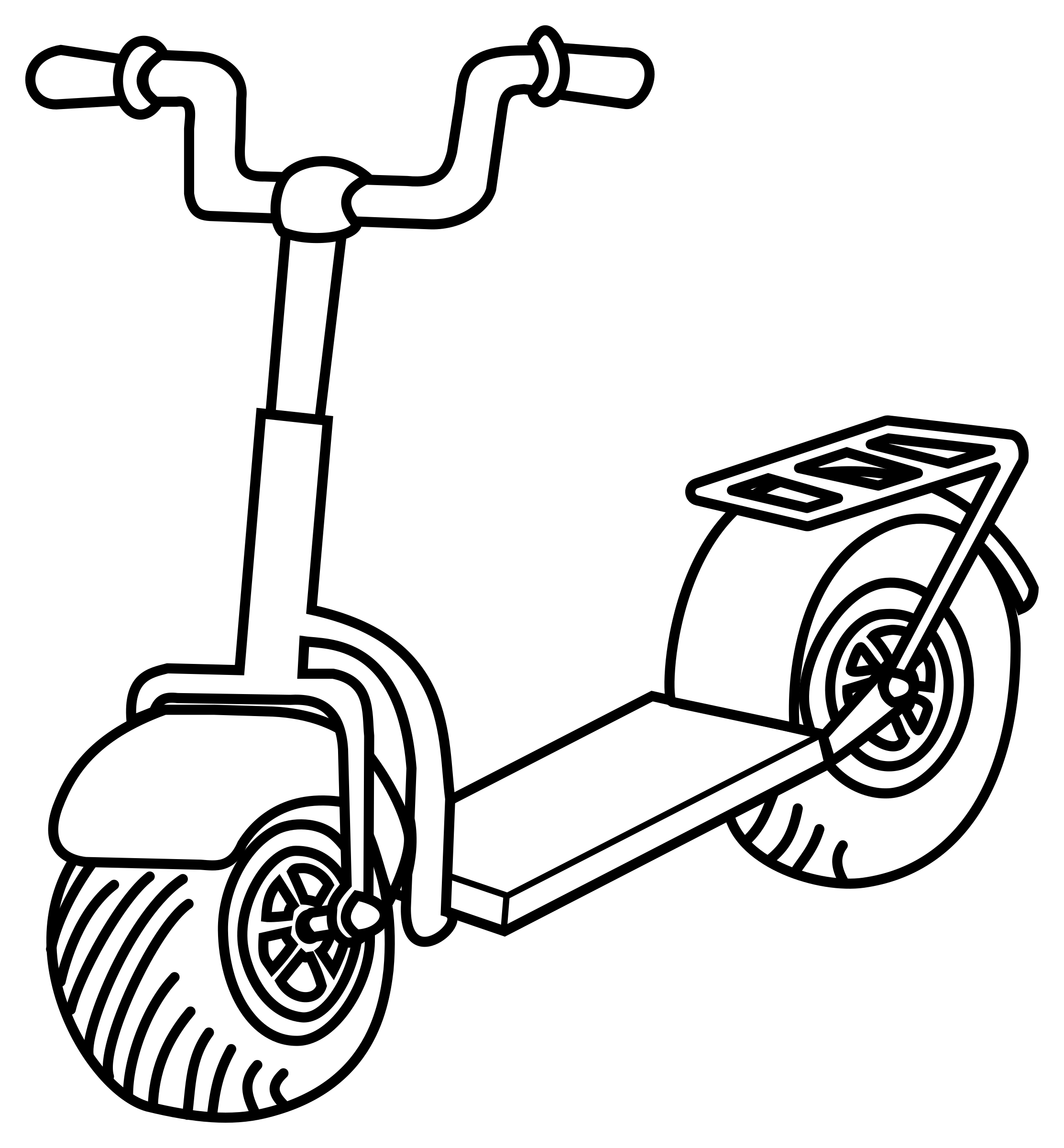 Free Scooter Wheel Cliparts, Download Free Clip Art, Free