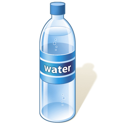 free bottled water cliparts