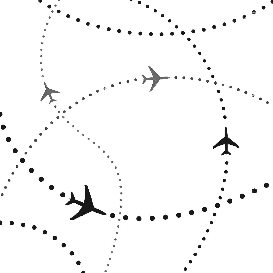 Travel Map With Pins Destination And Tourism Concept