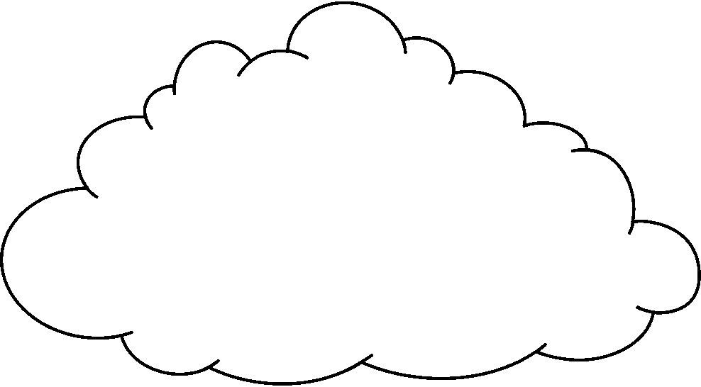 White Cloud Clipart