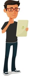 boy college student clipart Clip Art Library