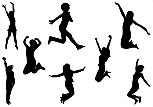 Free Jump Person Cliparts, Download Free Clip Art, Free