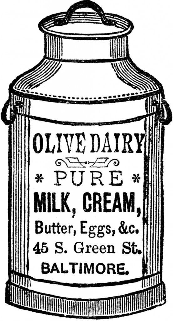 Free Antique Cliparts Milk, Download Free Clip Art, Free