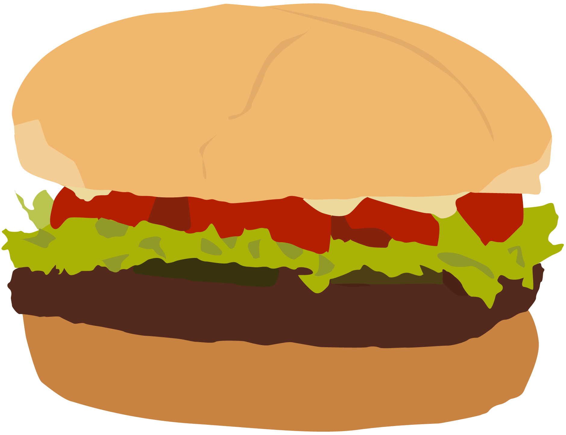 hight resolution of clip arts related to plain burger clipart