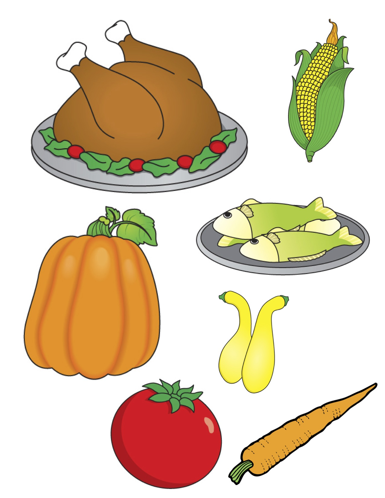 Free Cliparts Thanksgiving Plates Download Free Clip Art