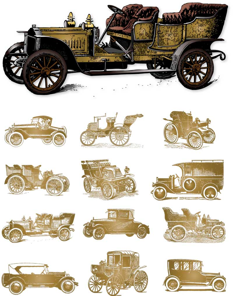 Vintage Car Clipart : vintage, clipart, Vintage, Vehicle, Cliparts,, Download, Clipart, Library