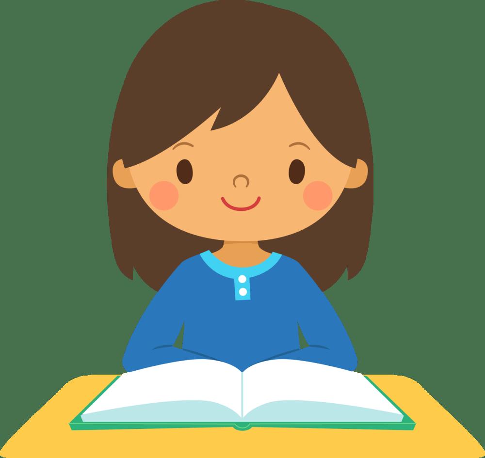 medium resolution of female student clipart