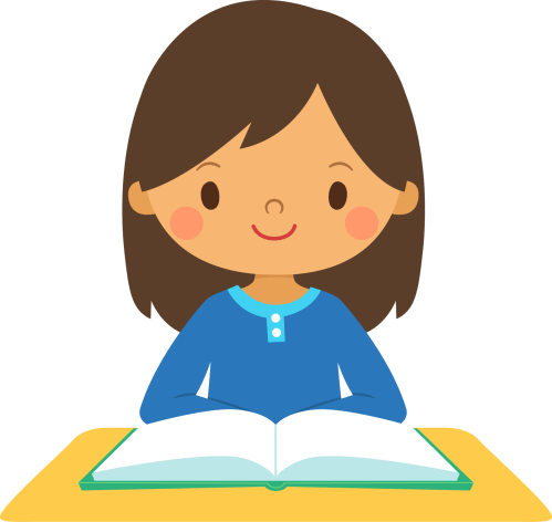 small resolution of female student clipart