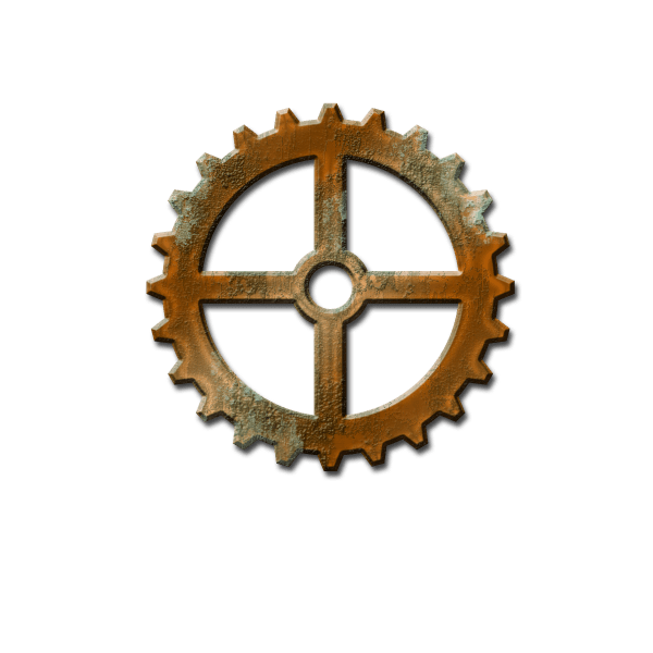 Steampunk Gears and Cogs