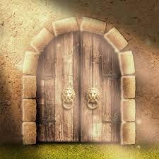 dibujo puertas de castillos Clip Art Library