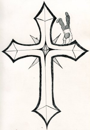 cross crosses drawings cool clipart drawing sketch draw cliparts designs library blackhawk parkour line clip clipartbest clipartmag