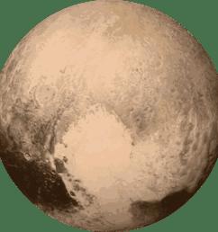 planet pluto clipart [ 2400 x 2400 Pixel ]