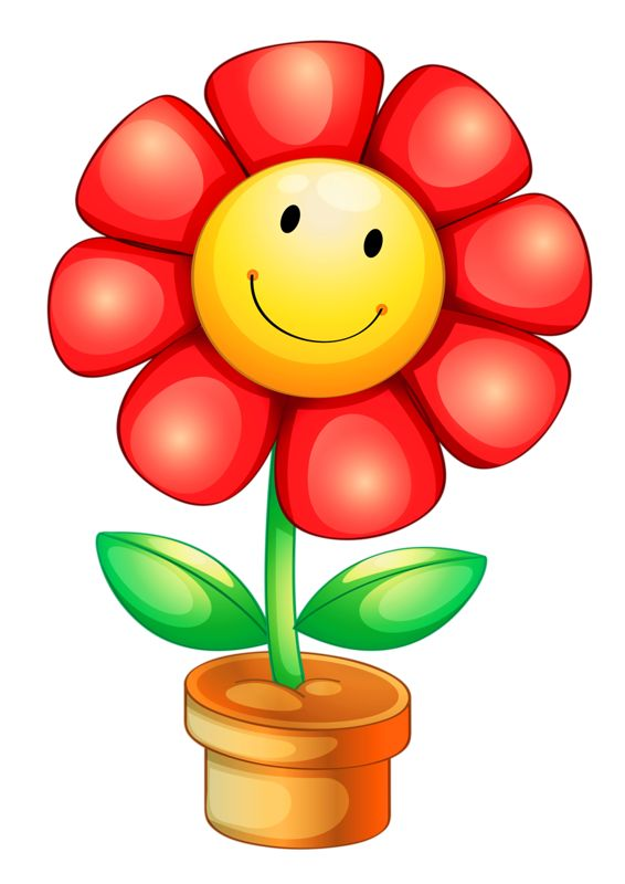 free smiley plant cliparts