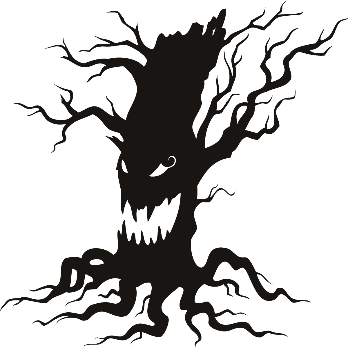 hight resolution of spooky halloween clipart