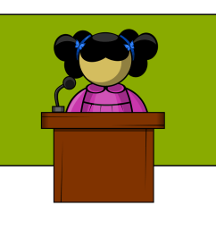 free clip art person speaking [ 1142 x 779 Pixel ]