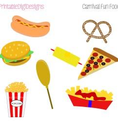 carnival food clipart [ 2100 x 2100 Pixel ]