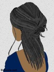 free hair braid cliparts