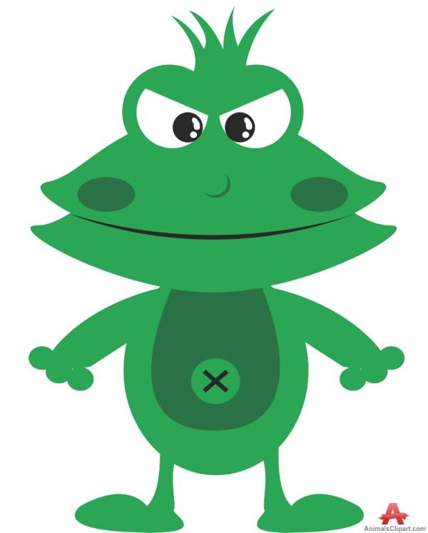 Cartoon Frog Clip Art Free