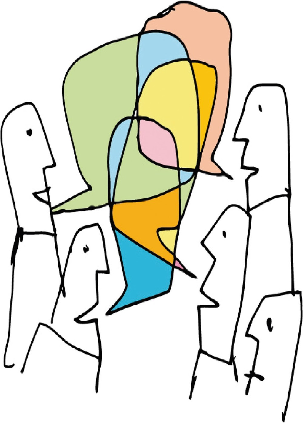 medium resolution of cartoon person speaking