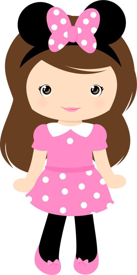 free pretty girl cliparts