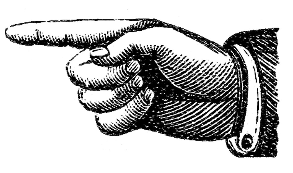 medium resolution of cartoon pointing finger clipart victorian