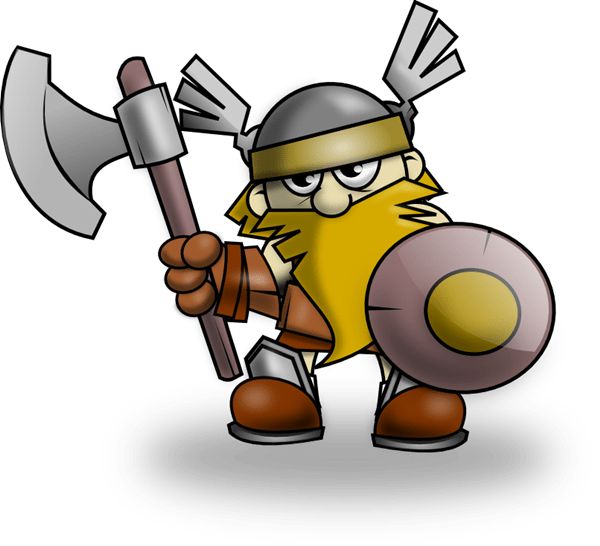 free viking cartoon cliparts