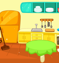 home my furniture clean kitchen clipart [ 1024 x 768 Pixel ]