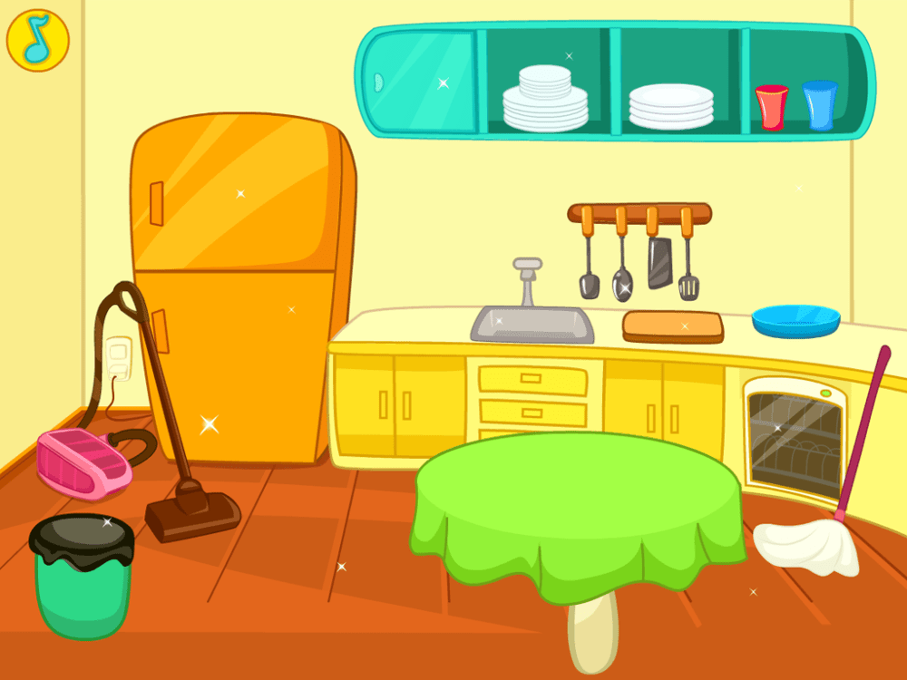 medium resolution of home my furniture clean kitchen clipart