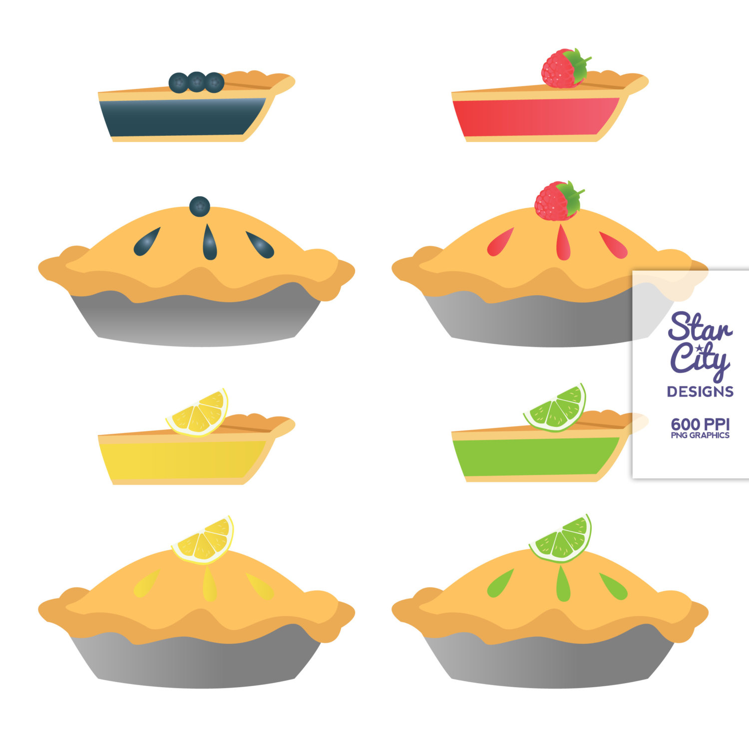 hight resolution of pie clipart