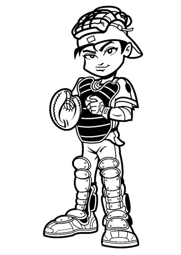Free Baseball Catcher Cliparts, Download Free Clip Art