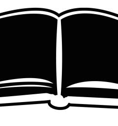 open bible book outline clipart [ 1598 x 988 Pixel ]