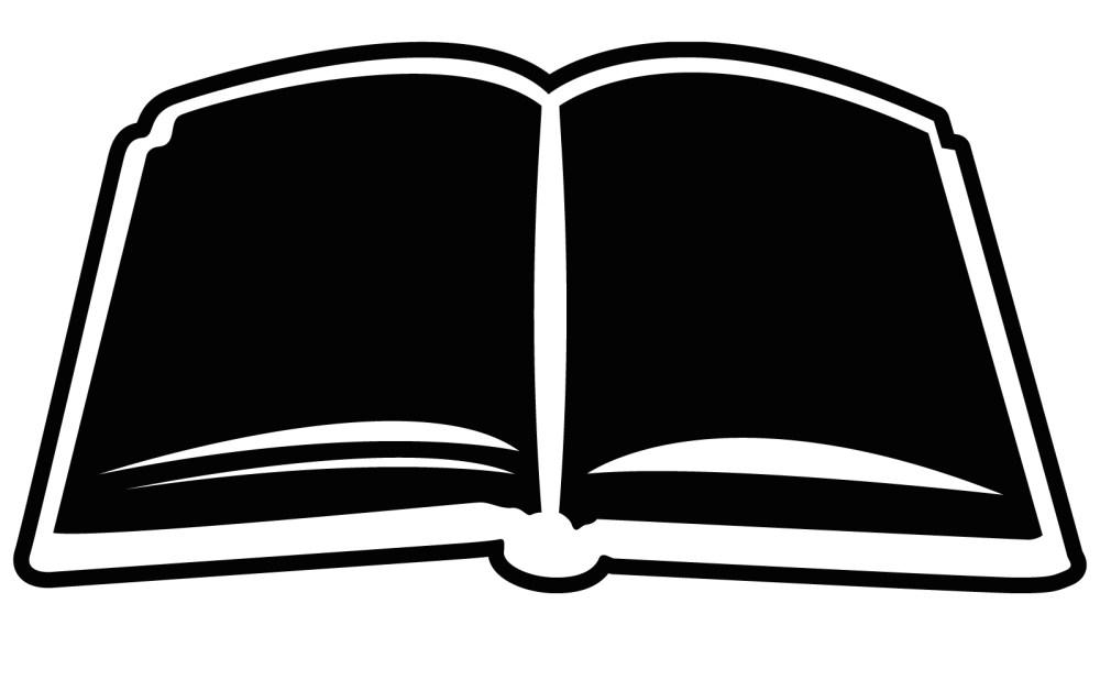 medium resolution of open bible book outline clipart