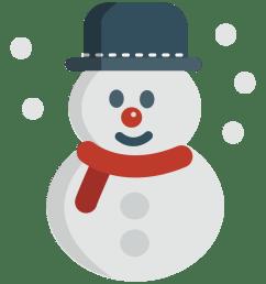 snowman hat clipart free [ 1000 x 1000 Pixel ]