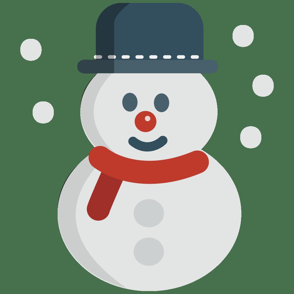 medium resolution of snowman hat clipart free