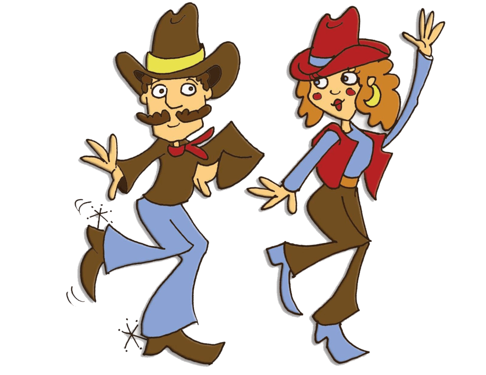 medium resolution of country line dancing clipart