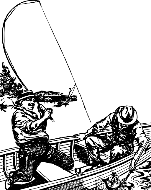 Free Guy Fishing Cliparts, Download Free Clip Art, Free