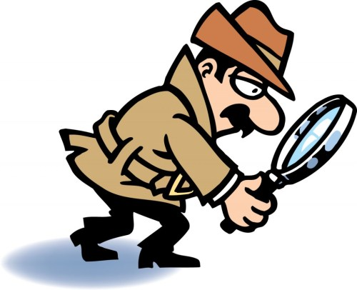 small resolution of detective clipart magnifying glass