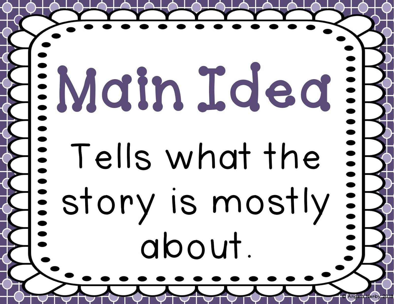 Short Story Map Main Ideas Supporting Detail Clipart