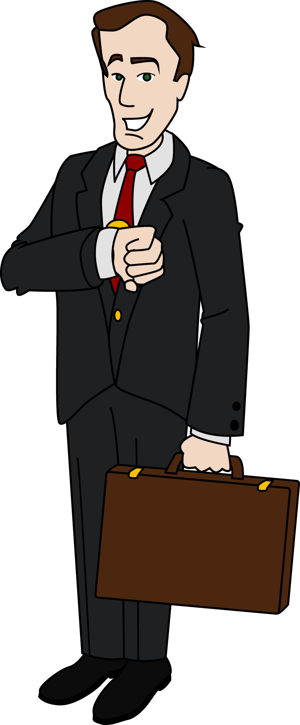 medium resolution of business men people clipart businessman
