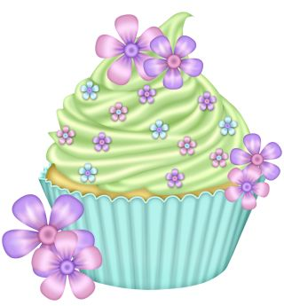 free fancy cupcake cliparts