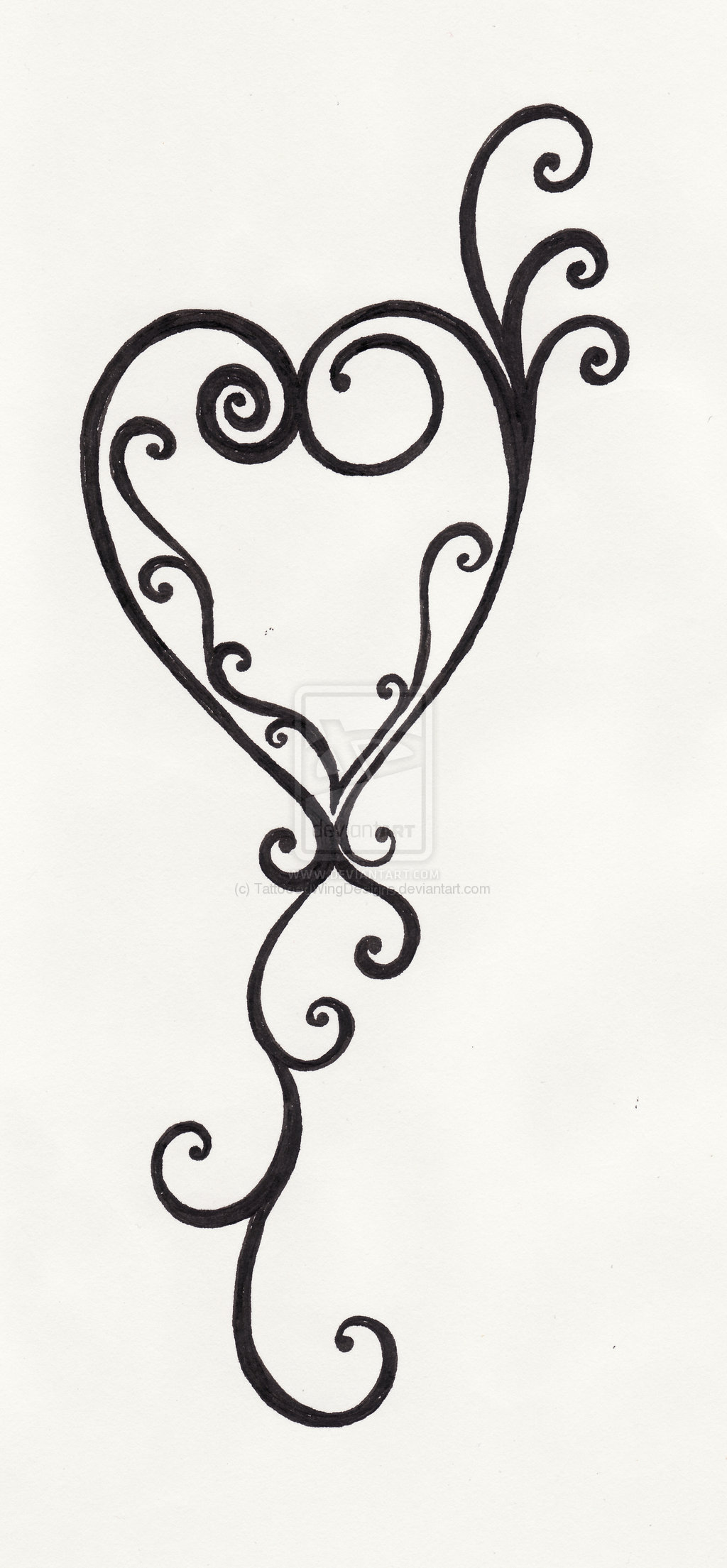 Free Swirl Heart Cliparts Download Free Clip Art Free