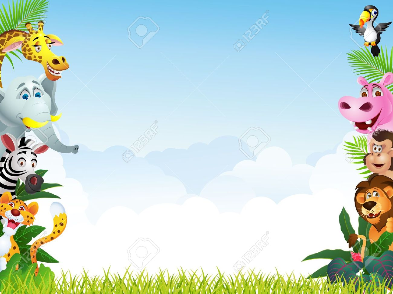 free animal backgrounds cliparts