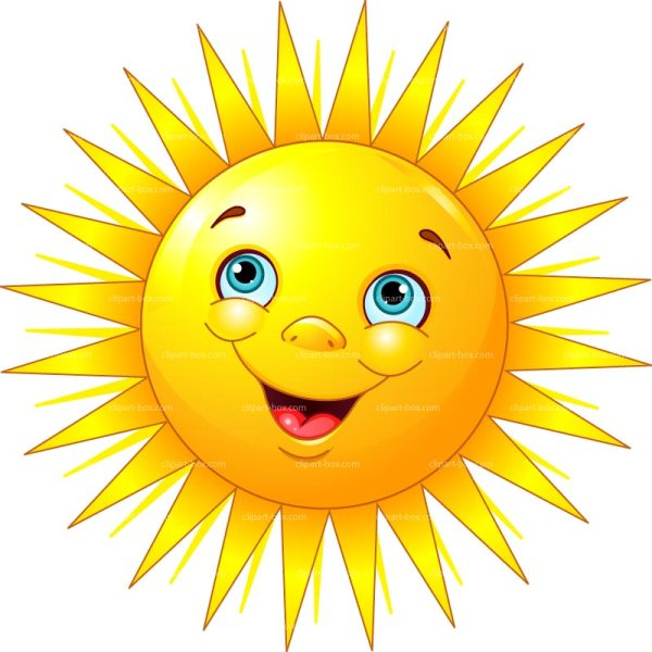 free cliparts smiling sun