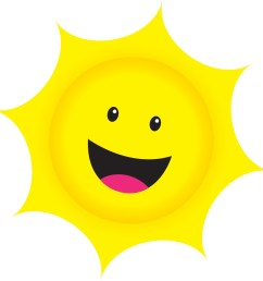 smiling sun clipart the [ 1520 x 1520 Pixel ]