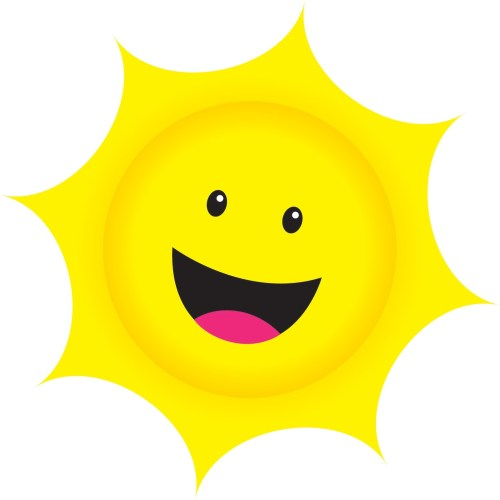 small resolution of smiling sun clipart the