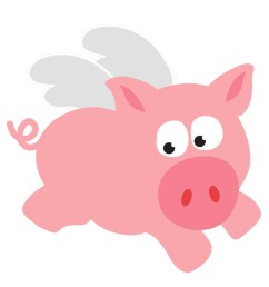 clip arts related to cute pig clipart [ 1084 x 936 Pixel ]