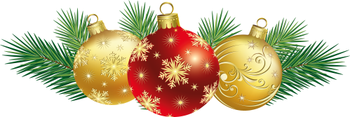 small resolution of christmas decorations clipart image
