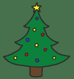 christmas tree clip art free [ 1200 x 1200 Pixel ]