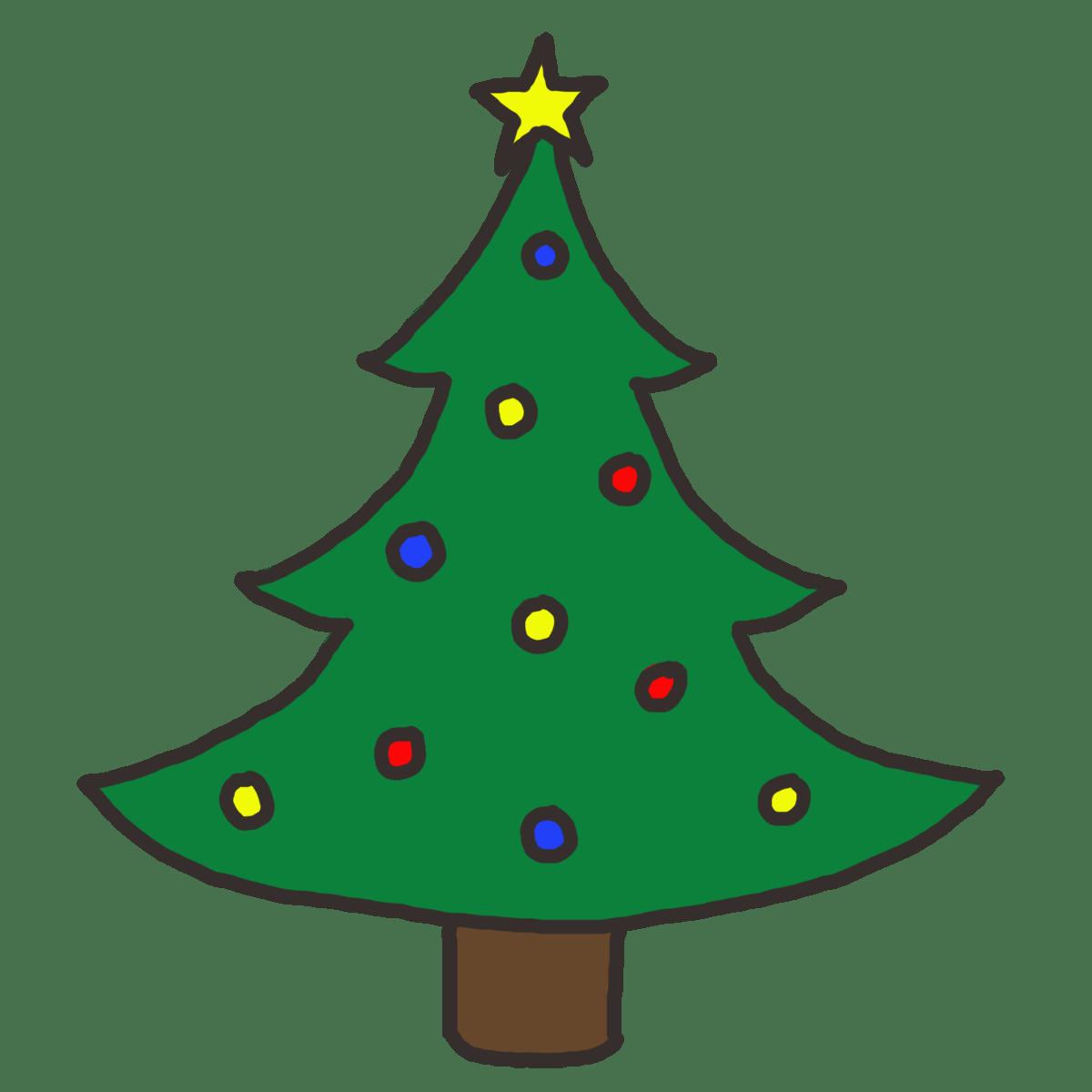 hight resolution of christmas tree clip art free