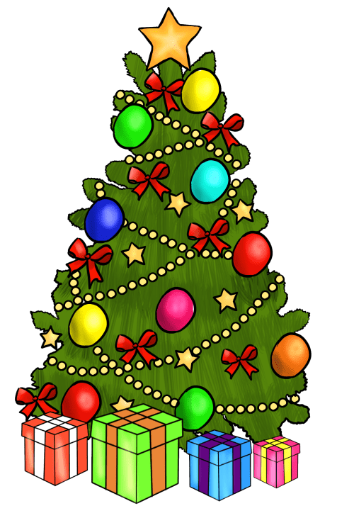 small resolution of christmas tree clipart free